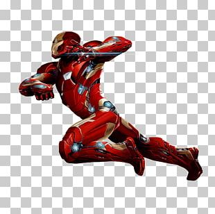 Iron Man Captain America War Machine Marvel Cinematic Universe Art PNG