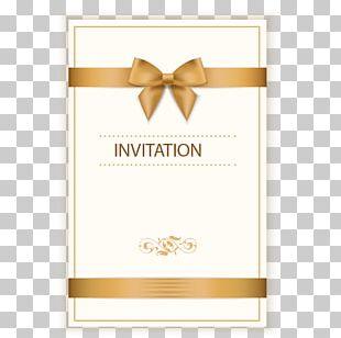 Wedding Invitation Birthday Greeting Card Ribbon PNG