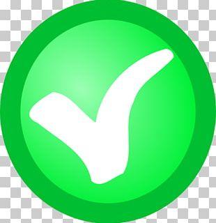 Check Mark Green Computer Icons Circle PNG