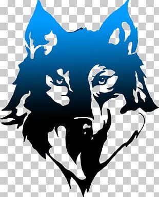 Gray Wolf T-shirt Hoodie Logo Art PNG