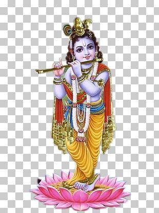 Krishna Bhagavad Gita Deity PNG