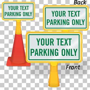 Traffic Sign Signage Valet Parking Brand PNG