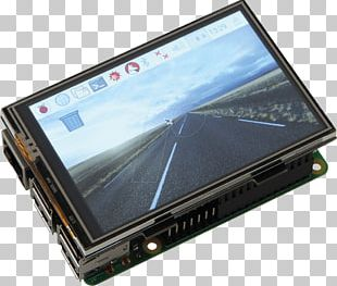 Raspberry Pi 3 Touchscreen Electronic Visual Display Display Device PNG