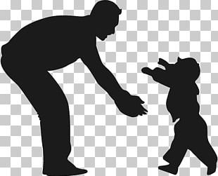 Father Child Son Silhouette PNG