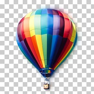 Hot Air Balloon Flight Desktop Soaring Over Ripon PNG