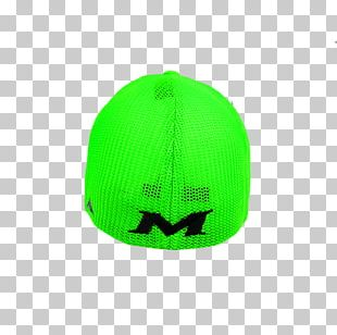 Baseball Cap Green Hat Red White PNG