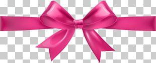 Ribbon Pink PNG