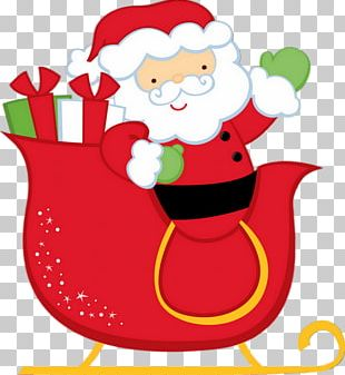 Santa Claus Is Comin' To Town Christmas Gift PNG