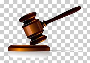 Judge Gavel Justice Court PNG