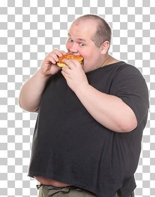 Fat Eating Man PNG
