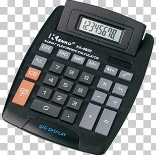 Hewlett-Packard Scientific Calculator Push-button PNG