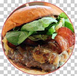 Buffalo Burger Hamburger Cheeseburger Beer Food PNG