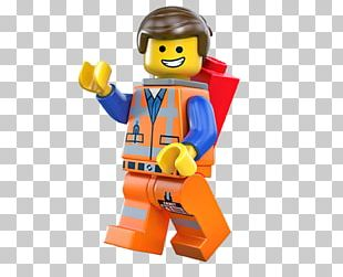 Emmet Wyldstyle The Lego Movie Lego Minifigure PNG