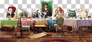 The Mad Hatter Alice's Adventures In Wonderland White Rabbit Alice In Wonderland PNG