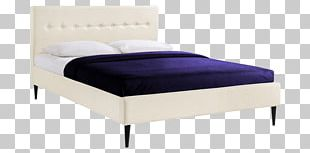 Bed Frame Mattress Box-spring Headboard Platform Bed PNG