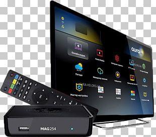 IPTV Set-top Box Infomir MAG254 Récepteur Multimédia Numérique PNG