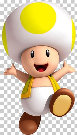 Super Mario Bros. Toad Princess Peach PNG