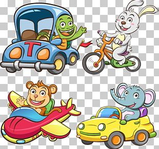 Car Vehicle Funny Animal PNG