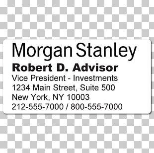 Morgan Stanley Wealth Management PNG Images, Morgan Stanley