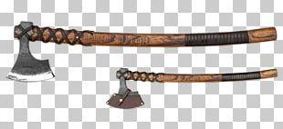 Battle Axe Viking Age Knife Dane Axe PNG
