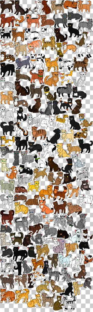 Cat Night Whispers Warriors ThunderClan Character PNG
