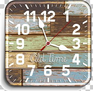 Clock Wood Illustration PNG