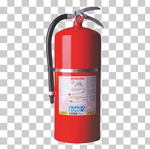 Fire Extinguisher Kidde ABC Dry Chemical Fire Class UL PNG