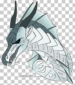 Wings Of Fire Dragon Fan Art PNG