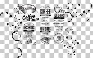 Coffee Hamburger Tea Cafe Menu PNG
