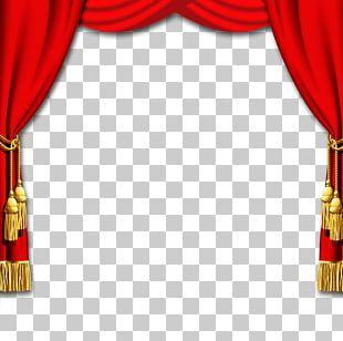 Theater Drapes And Stage Curtains Chinese New Year Window PNG