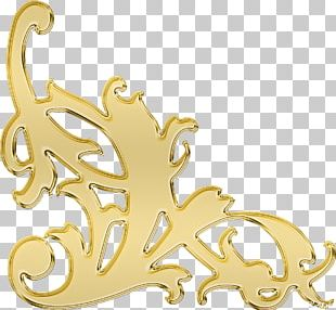 Gold Chemical Element Body Jewellery PNG