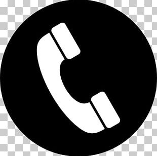 Phone Icon In A Circle PNG