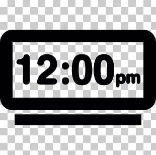 Alarm Clocks Digital Clock Timer PNG