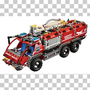 Amazon.com Lego Technic Toy LEGO 42068 Technic Airport Rescue Vehicle PNG