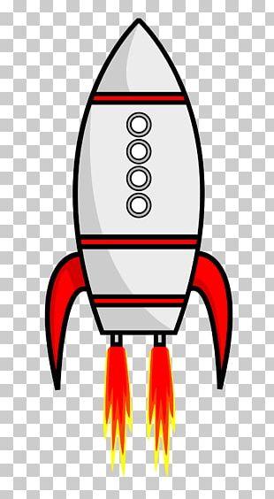 Rocket Spacecraft Cartoon PNG