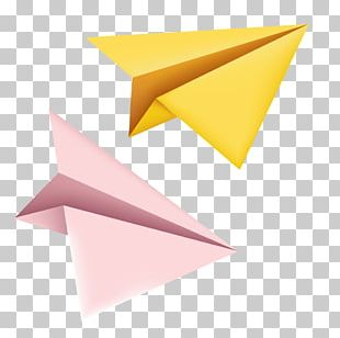 Airplane Paper Plane Origami PNG