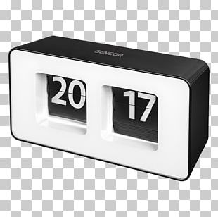 Alarm Clocks Sencor Flip Clock Digital Clock PNG