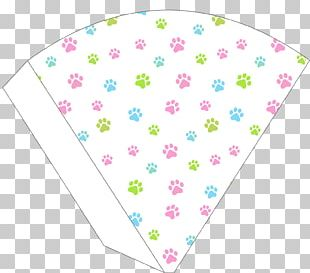 Birthday Party Favor Dog Banner PNG