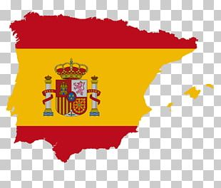 Flag Of Spain Flag Of Spain Map National Flag PNG