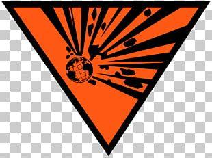 Hazard Symbol Explosive Material PNG