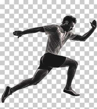 Athlete Running Sprint Sport Track & Field PNG