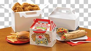 Take-out Fast Food Fried Chicken Box Packaging And Labeling PNG