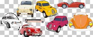 Vintage Car Sports Car Automotive Design PNG