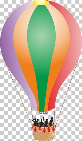 Flight Hot Air Balloon Aviation Aircraft Airplane PNG