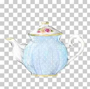 Teapot Coffee Watercolor Painting Teacup PNG