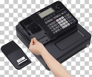 Cash Register Office Supplies Casio 0 PNG