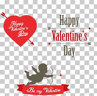 Valentines Day Cupid Heart PNG