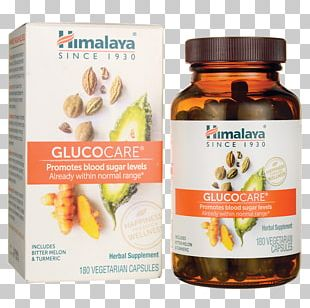 Dietary Supplement Blood Sugar Gurmar The Himalaya Drug Company Bitter Melon PNG