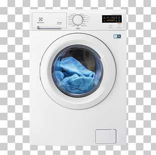 Washing Machines Laundry EWW1476WD Electrolux Pralko-suszarka Clothes Dryer PNG