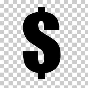 Dollar Sign T-shirt Black Money PNG